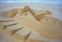 Sand sculpture, Hawaii