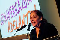 Latin America 2014 Conference<br /> Adelante!<br /> <br /> Venezuelan ambassador, H.E. Roc&iacute;o Maneiro.