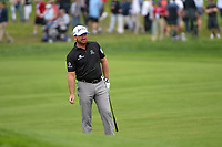 Graeme McDowell (NIR) watches his approach shot on 2 during round 1 of the 2019 US Open, Pebble Beach Golf Links, Monterrey, California, USA. 6/13/2019.<br /> Picture: Golffile | Ken Murray<br /> <br /> All photo usage must carry mandatory copyright credit (© Golffile | Ken Murray)