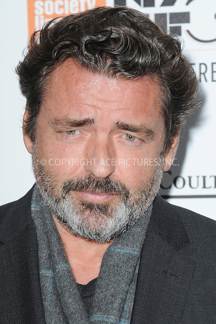 www.acepixs.com<br /> October 15, 2016  New York City<br /> <br /> Angus Macfadyen arriving to the 54th New York Film Festival  'The Lost City of Z' premiere on October 15, 2016 in New York City.<br /> <br /> <br /> Credit: Kristin Callahan/ACE Pictures<br /> <br /> <br /> Tel: 646 769 0430<br /> Email: info@acepixs.com