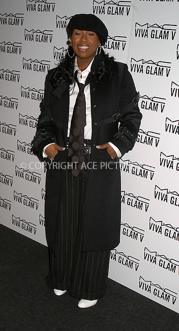 Missy Elliott at launch party for M.A.C. AIDS Fund. New York, February 11, 2004. Please byline: AJ SOKALNER/ACE Pictures.   ..*PAY-PER-USE*      ....IMPORTANT: Please note that our old trade name, NEW YORK PHOTO PRESS (NYPP), is replaced by new name, ACE PICTURES. New York Photo Press and ACE Pictures are owned by All Celebrity Entertainment, Inc.......All Celebrity Entertainment, Inc:  ..contact: Alecsey Boldeskul (646) 267-6913 ..Philip Vaughan (646) 769-0430..e-mail: info@nyphotopress.com