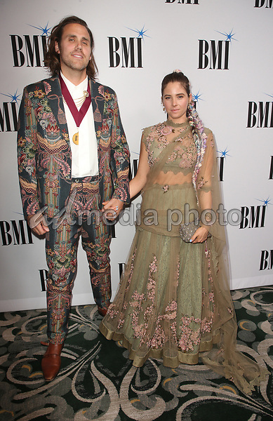 14 May 2019 - Beverly Hills, California - Jason Evigan, Victoria Evigan. 67th Annual BMI Pop Awards held at The Beverly Wilshire Four Seasons Hotel. Photo Credit: Faye Sadou/AdMedia