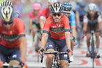Jon Izaguirre Insausti (ESP) Bahrain-Merida crosses the finish line at the end of Stage 6 of the La Vuelta 2018, running 150.7km from Hu&eacute;rcal-Overa to San Javier, Mar Menor, Sierra de la Alfaguara, Andalucia, Spain. 30th August 2018.<br /> Picture: Colin Flockton | Cyclefile<br /> <br /> <br /> All photos usage must carry mandatory copyright credit (&copy; Cyclefile | Colin Flockton)