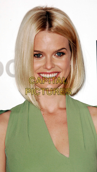 Alice Eve  .The UK photocall for 'Men In Black 3' at the Dorchester Hotel, Park Lane, London, England..16th May 2012.headshot portrait green MIB3 III.CAP/WIZ.© Wizard/Capital Pictures.