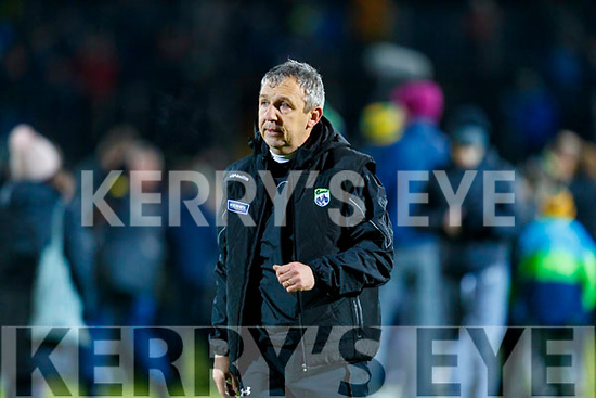 Kerry Manager Peter Keane after the Kerry and Dublin at Austin Stack Park in Tralee, Kerry on Saturday night.