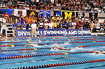 24 MAR 2012: Race action in the 200 yard butterfly race during the Division I Men's Swimming and Diving Championship held at the Weyerhaeuser King County Aquatic Center in Seattle, WA.  The race was won by Will Hampton of California in a time of 1:40.94  Rod Mar/ NCAA Photos