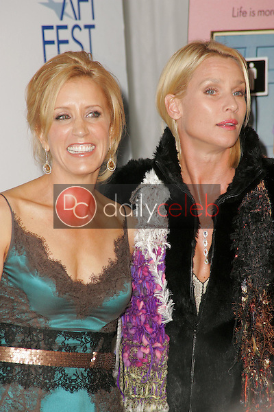 Felicity Huffman and Nicolette Sheridan<br />
