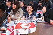 London, UK. 22 March 2016. Fans waiting for the stars' arrivals. Warner Bros. Pictures presents the European Premiere of Batman v Superman, Dawn of Justice. The movie, directed by Zack Snyder, stars Ben Affleck as Batman/Bruce Wayne and Henry Cavill as Superman/Clark Kent in the characters' first big-screen pairing. The movie opens in cinemas on 25 March 2016. © Vibrant Pictures/Alamy Live News