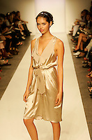 LOS ANGELES,CA - OCTOBER 14,2008: . CRISPIN & BASILIO runway show at Spring 2009 shows at LA Fashion Week, October 14, 2008.