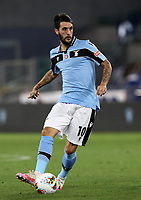 Football, Serie A: S.S. Lazio - Cagliari, Olympic stadium, Rome, July 23, 2020. <br /> Lazio's Luis Alberto in action during the Italian Serie A football match between Lazio and Cagliari at Rome's Olympic stadium, Rome, on July 23, 2020. <br /> UPDATE IMAGES PRESS/Isabella Bonotto