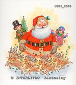 GIORDANO, CHRISTMAS SANTA, SNOWMAN, WEIHNACHTSMÄNNER, SCHNEEMÄNNER, PAPÁ NOEL, MUÑECOS DE NIEVE, paintings+++++,USGI2305,#X#