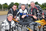 BIKERS: Ready for the Charity Bike Run in aid of Cystic Fibrosis at the Mid Western Regional Hospital at Herbert's bar, Kilflynn on Sunday l-r: Denis Fealy, Tom Dowling, Liam Scanlon and Anthony Fealy.