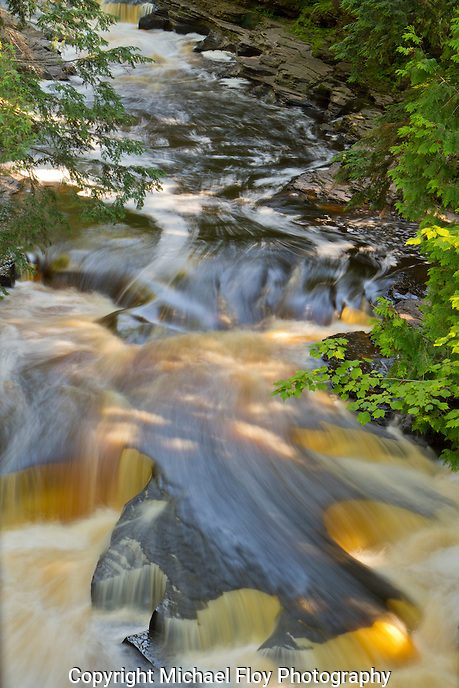 Presque Isle River, Cascades,Porcupine Mountains