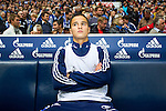 Duitsland, Gelsenkirchen, 22 september  2012.Seizoen 2012/2013.Bundesliga.Schalke 04-Bayern Munchen 0-2.Ibarhim Afellay van Schalke 04 op de bank..