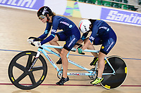 Picture by Simon Wilkinson/SWpix.com 23/03/2018 - Cycling 2018 UCI  Para-Cycling Track Cycling World Championships. Rio de Janeiro, Brazil - Barra Olympic Park Velodrome - Day 2 - Maria Sanchez