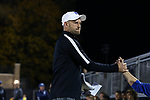 DURHAM, NC - NOVEMBER 25: Duke assistant coach Chris Rich. The Duke University Blue Devils hosted the Fordham University Rams on November 25, 2017 at Koskinen Stadium in Durham, NC in an NCAA Division I Men's Soccer Tournament Third Round game. Fordham advanced 8-7 on penalty kicks after the game ended in a 2-2 tie after overtime.