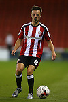 Stefan Scougall of Sheffield Utd during the League One match at Bramall Lane Stadium, Sheffield. Picture date: September 27th, 2016. Pic Simon Bellis/Sportimage