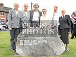 Sr. Catherine Young, Sr. Mary Friel, Sr. Phil Sheerin, Sr. Jude Walsh, Sr. Margaret Quinn, Sr. Helen Spragg at the start of the campaign to erect a statue in memory of Mother Mary Martin on the green at Boyle O'Reilly. Photo:Colin Bell/pressphotos.ie