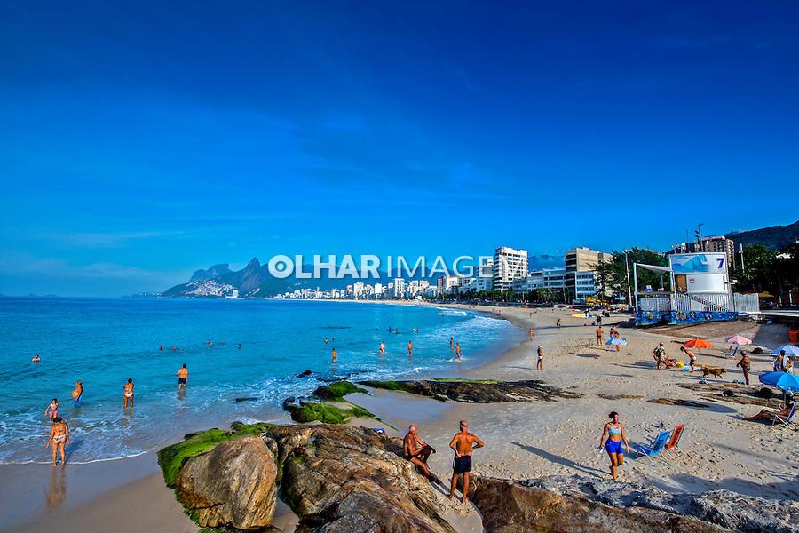 Praia do Arpoador e Ipanema. Rio de Janeiro. 2016. Foto de Renata Mello.