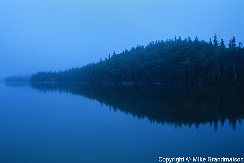 Dawn on Lake Superior<br /> Pukaskwa National Park<br /> Ontario<br /> Canada