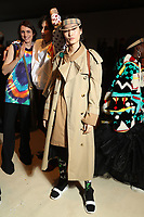 FEB 2014 Burberry Christopher Bailey's last - backstage at  London Fashion Week