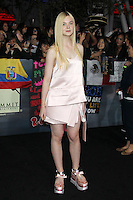 LOS ANGELES, CA - NOVEMBER 12: Elle Fanning at the premiere of Summit Entertainment's 'The Twilight Saga: Breaking Dawn - Part 2' at the Nokia Theatre L.A. Live on November 12, 2012 in Los Angeles, California. Credit: mpi29/MediaPunch Inc. /NortePhoto