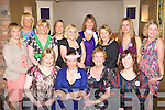 Mary Mulcaire Duagh celebrates her hen party with her girlfriends in the Dromhall Hotel on Friday night front row l-r: Benita Finnerty, Mary, Una Mulcaire, Ciara Bermingham. Back row: Olivia Mulcare, Fiona Mulcare, Norette Kissane, Jani Brown, Siobhain Beasley, Cora O'Mahony, Mirian Browne, Mary Buckley and Cathy Healy