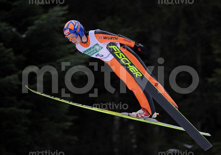 FIS Continental Cup Skispringen Damen  17.01.2009 Carina Vogt (SC Degenfeld)