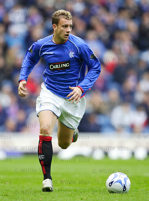 Alan Hutton, Rangers.stock season 2005-2006.pic willie vass