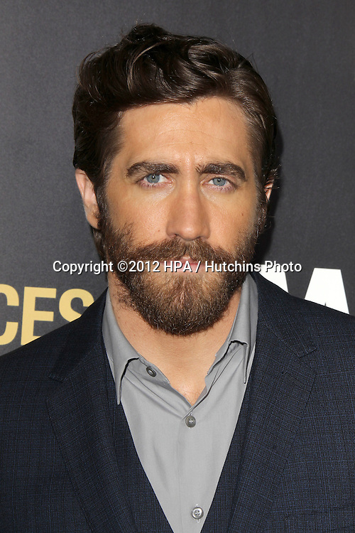 """LOS ANGELES - SEP 17:  Jake Gyllenhaal arrives at the """"End Of Watch"""" Premiere at Regal Cinemas L.A. Live on September 17, 2012 in Los Angeles, CA"""