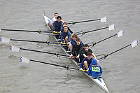 Crew: 155   Kings School Canterbury, The, Boat Club   School First J15 8<br /> <br /> Schools' Head of the River 2018<br /> <br /> To purchase this photo, or to see pricing information for Prints and Downloads, click the blue 'Add to Cart' button at the top-right of the page.