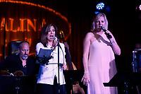 LOS ANGELES - SEP 25: Denise Donatelli, Carol Weisman at 'Pat Harris' California Democratic U.S. Senate run 2018 kick off' at Catalina Jazz Club Bar & Grill on September 25, 2017 in Hollywood, California