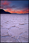 Badwater Sunrise<br /> Death Valley National Park, California