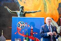 NOVA YORK, EUA, 01.06.2018 - ONU-RUSSIA - O embaixador da Russia na Onu Vasily Nebenzya durante evento de apresentação da Copa do Mundo de 2018 na sede das Nações Unidas em Nova York nesta sexta-feira, 01. (Foto: William Volcov/Brazil Photo Press)