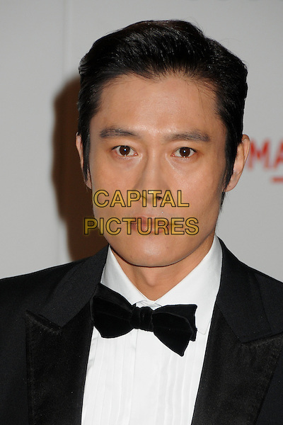 Byung-hun Lee.The Inaugural Art and Film Gala held at LACMA in Los Angeles, California, USA..November 5th, 2011.headshot portrait black white bow tie.CAP/ADM/BP.©Byron Purvis/AdMedia/Capital Pictures.