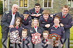 Killarney Order of Malta members celebrate winning the best Regional winners in Thules on Sunday front row l-r: Leontia Doody, Carol O'Doherty. Middle row: Alanna Kiely, Colette Kiely, Claire Looney. Back row: Donal McCarthy, Cian O'Brien, Paul O'Brien, Liam Morris and Kyle Fitzgerald