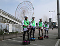 Toyota tests Personal Mobility Device in Tokyo