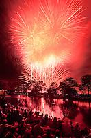 fireworks, July 4th, Esplanade, Boston, MA
