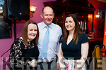Sinead Nash, Brian O'Malley and Sorcha Nash (all from Limerick), attending the Women in Media event, in Ballybunion on Saturday last.