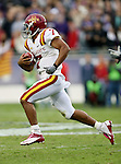 Iowa State Cyclones quarterback Jared Barnett (7) in action during the game between the Iowa State Cyclones and the TCU Horned Frogs  at the Amon G. Carter Stadium in Fort Worth, Texas. Iowa State defeats TCU 37 to 23...
