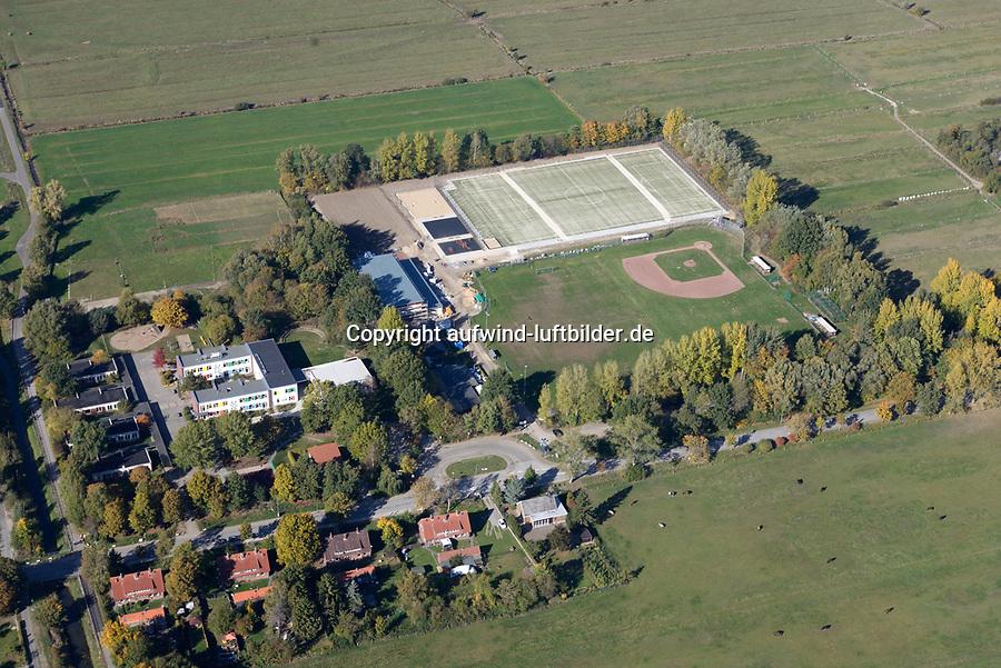 ETSV Sportplatz Mittlerer Landweg : EUROPA, DEUTSCHLAND, HAMBURG 13.10.2018: ETSV Sportplatz Mittlerer Landweg