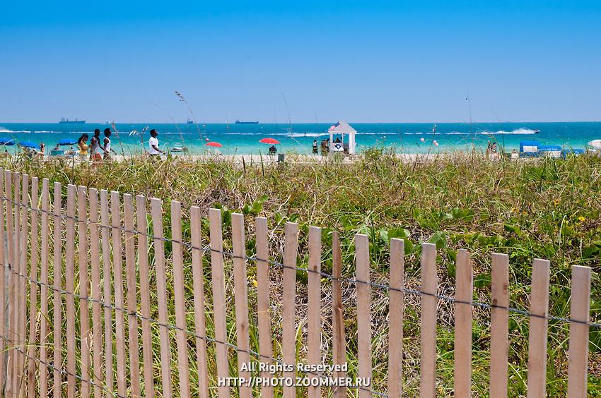 South Beach (SoBe) in Miami beach, Florida