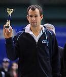 TENIS, BEOGRAD, 22. Feb. 2010. -  Dominik Hrbati. Srpski teniser Viktor Troicki osvojio je MTS Open 2009. savladavsi u finalu Slovaka Dominika Hrbatija sa 2:0, po setovima 6:4, 6:2. Foto: Nenad Negovanovic