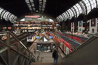 Central train station,Hamburg, Germany