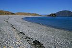 Gravel beach at Punta la Gringa, Bahia de los Angeles, Baja California, Mexico