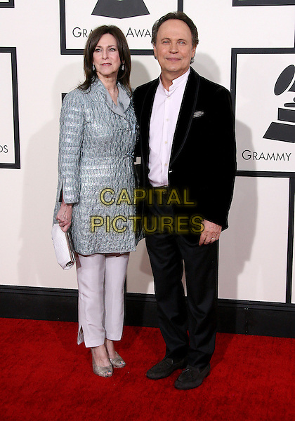 LOS ANGELES, CA - JANUARY 26 - Billy Crystal, Janice Crystal. 56th GRAMMY Awards held at the Staples Center. <br /> CAP/ADM<br /> &copy;AdMedia/Capital Pictures