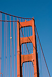 San Francisco, California, Golden Gate Bridge, South End Vista Point.  Photo copyright Lee Foster.  Photo # 1-casanf76391.