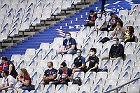 24th July 2020, Stade de France, Paris, France; French football Cup Final, Paris Saint Germain versus  St Ertienne;  The small amount of allowed SUPPORTERS