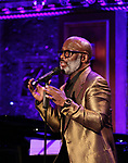 "BeBe Winans on stage during a Song preview performance of the BeBe Winans Broadway Bound Musical ""Born For This"" at Feinstein's 54 Below on November 5, 2018 in New York City."