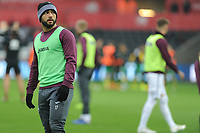 Cameron Carter-Vickers of Swansea City during the pre-match warm-up for the Sky Bet Championship match between Swansea City and Norwich City at the Liberty Stadium, Swansea, Wales, UK. Saturday 24 November 2018